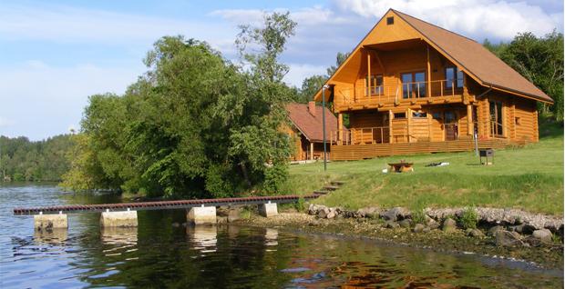 Beautiful lake cottage