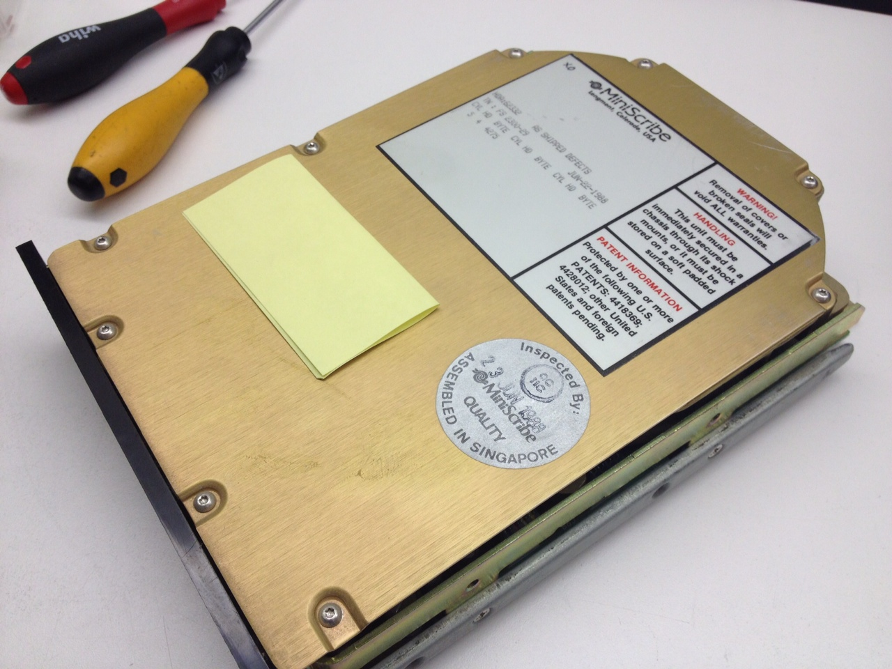 how to find history on hard drive