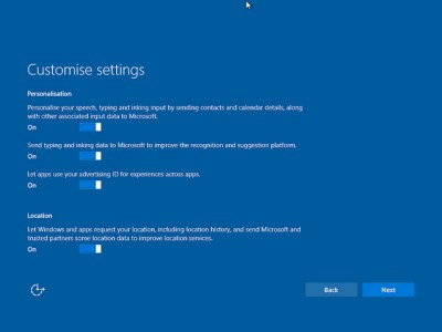 privacy, windows 10