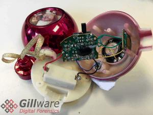 gillware digital forensics christmas ornament