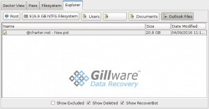 This PST file was partially recovered and needs to be repaired.