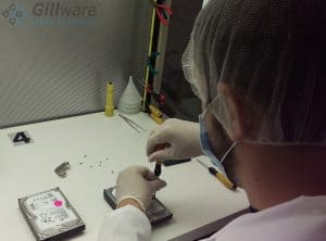 RAID-6 recovery procedures are performed in our ISO-5 certified cleanroom area.