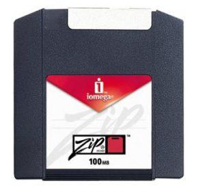 Old zip disk