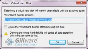 By not un-checking this box, the IT technician ended up with a deleted ThawSpace virtual partition