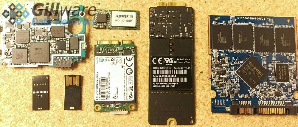 Flash media comes in all shapes and sizes. Our experts can perform NAND flash device recovery procedures regardless of the form factor.