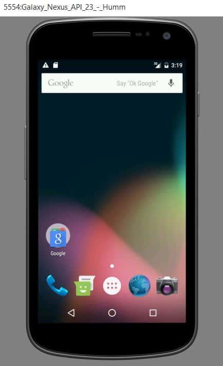Virtual Galaxy Nexus