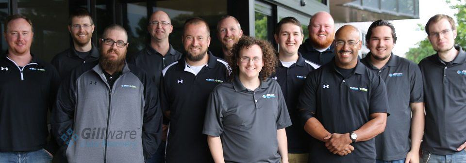 A handful of the data recovery experts in our data recovery company