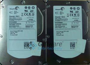 2 Seagate Cheetah hard drives