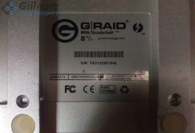 G-RAID data recovery