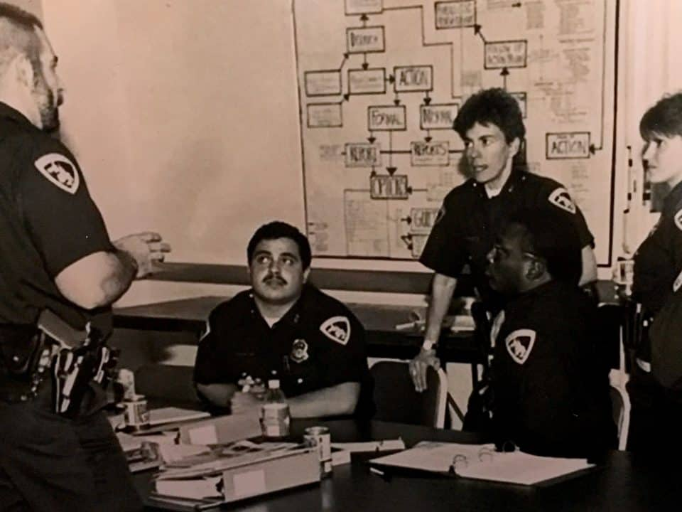 Madison Police Department vintage picture