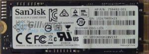 SanDisk 256GB SSD