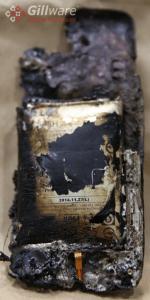 burned phone smartphone forensics