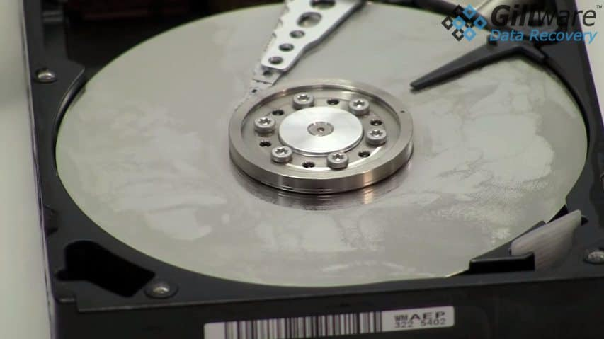 condensation on hard drive platters