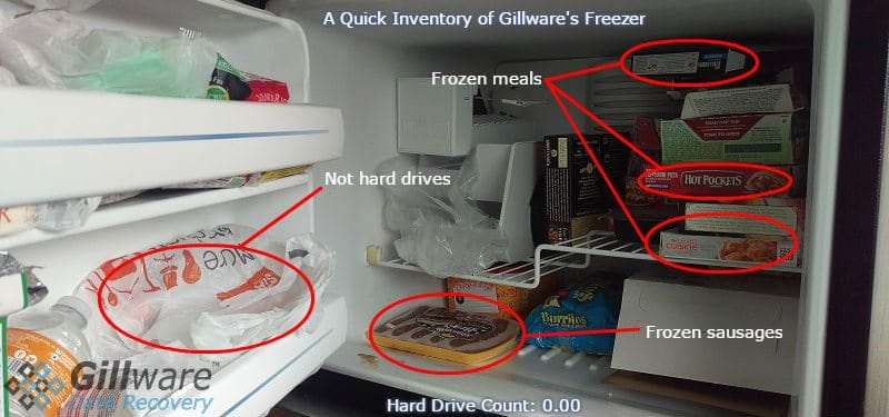 The Freezer in Gillware's kitchen