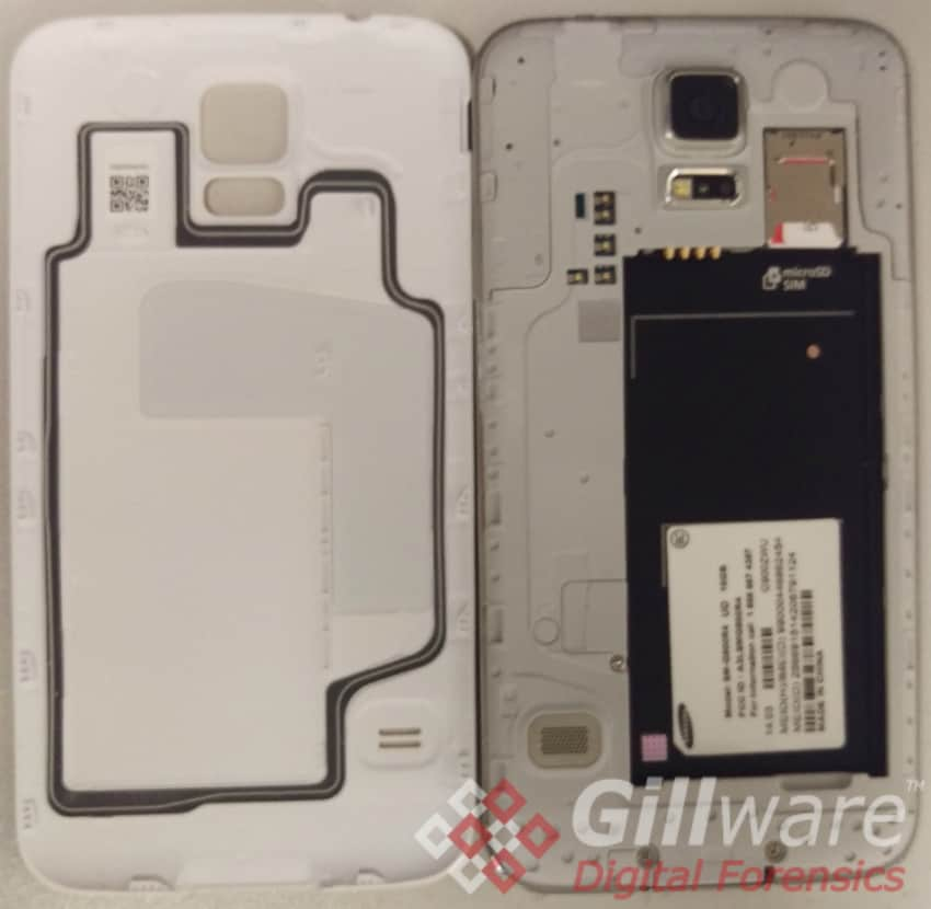 Samsung Galaxy S5 forensics