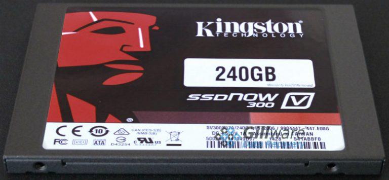 Kingston SSDNow 300 240GB SSD