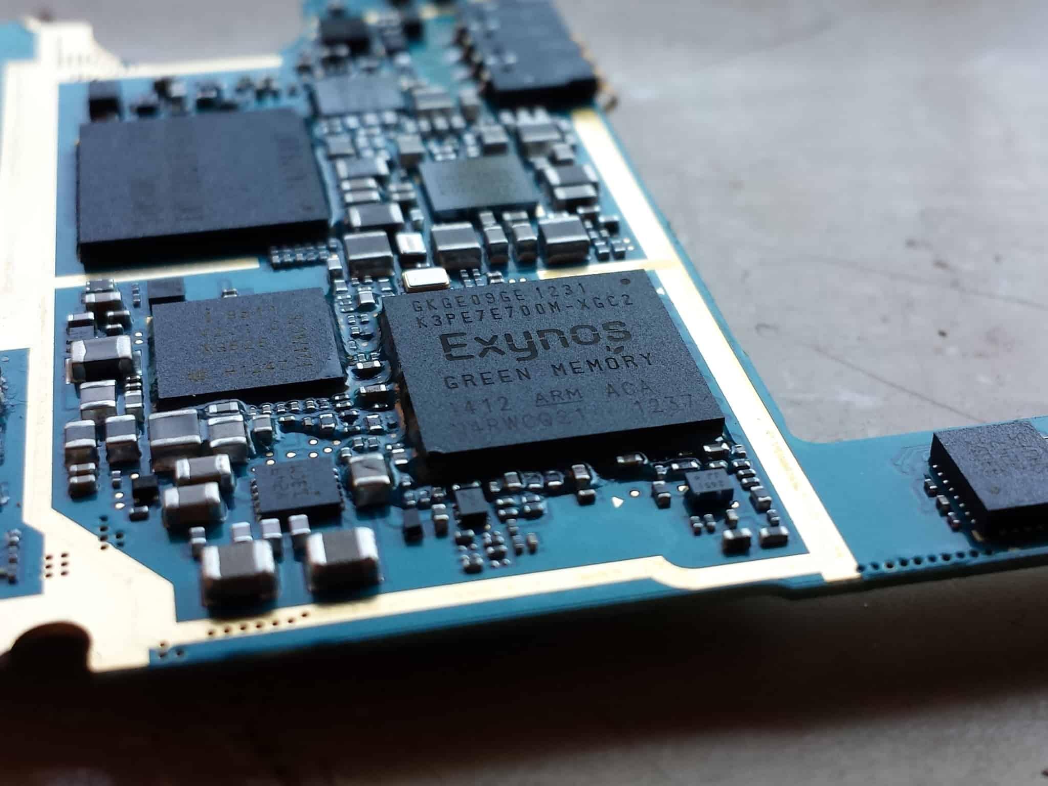 Samsung Exynos system-on-chip (SoC) chipset