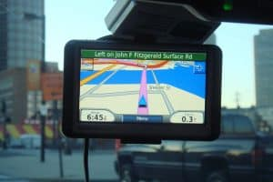 Garmin automotive gps device