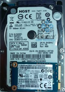Hitachi hard drive repair