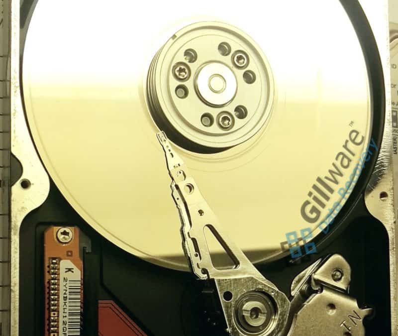 Clicking hard drives can damage themselves further.