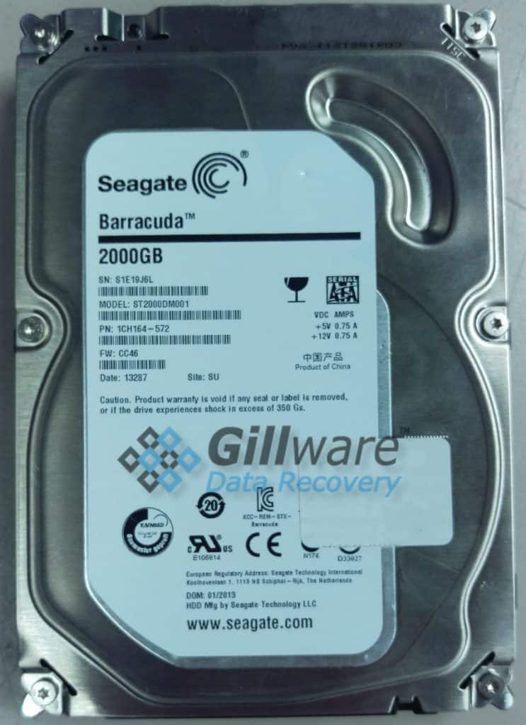 Seagate NAS recovery