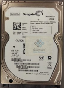Unreadable hard drive