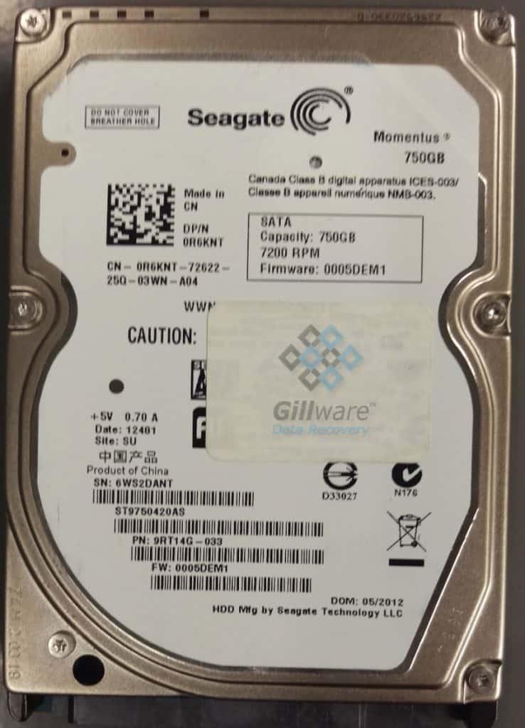Unreadable hard drive