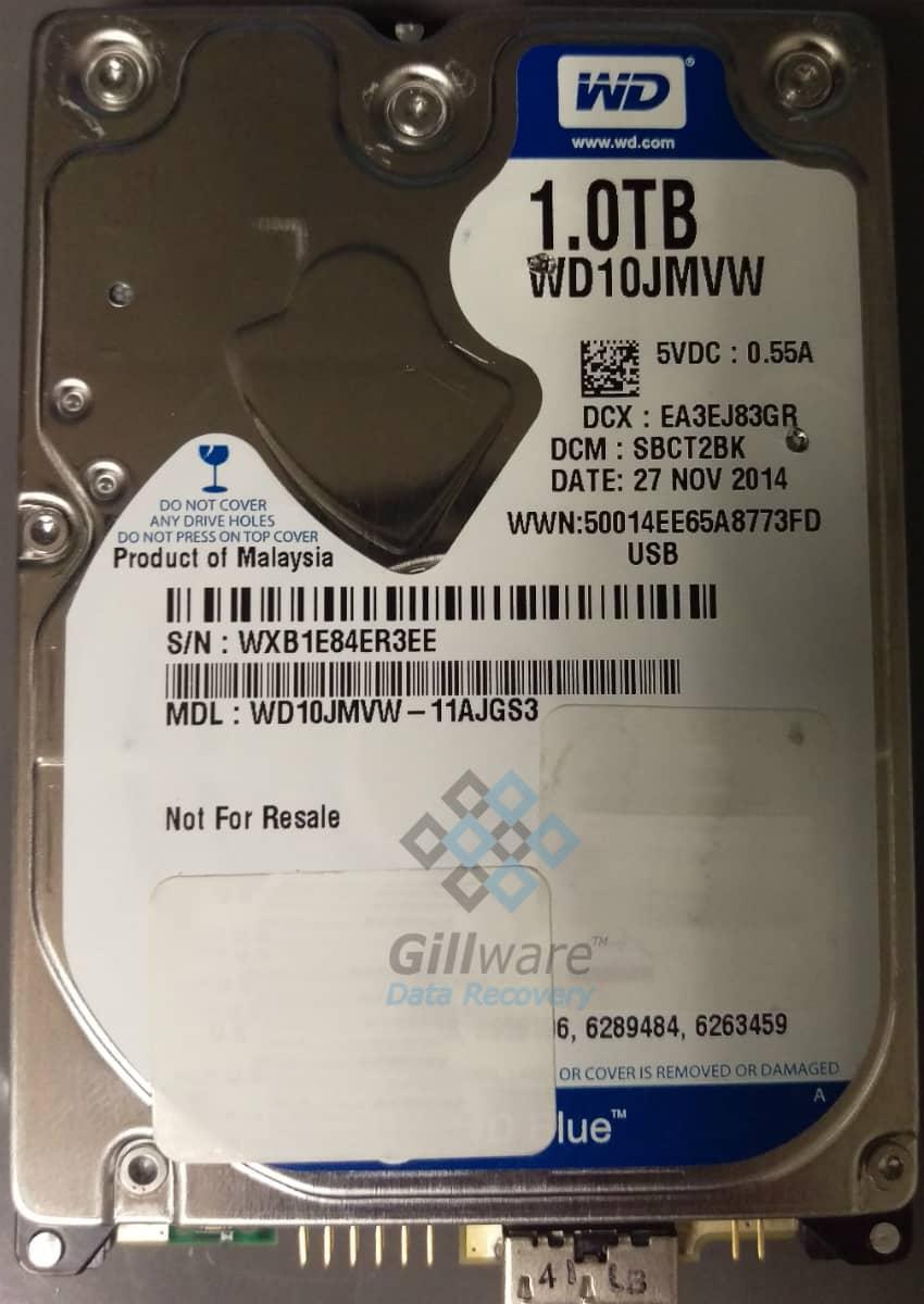 Clicking Western Digital hard drive