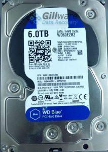WD Blue hard disk drive failure