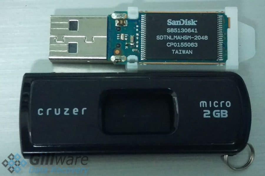 USB drive repair