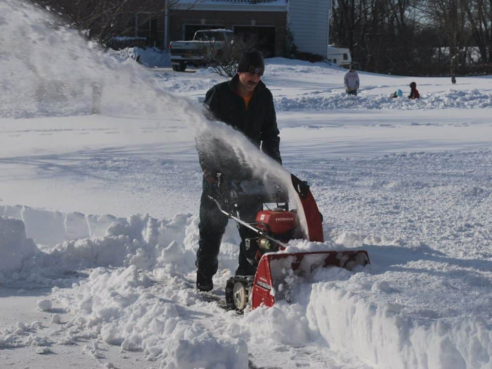 Putting a USB thumb drive through a snowblower won't always have a happy ending
