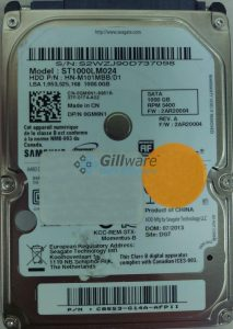 Samsung hard disk failure