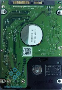 Surprise—the PCB had nothing to do with this client's HDD failure
