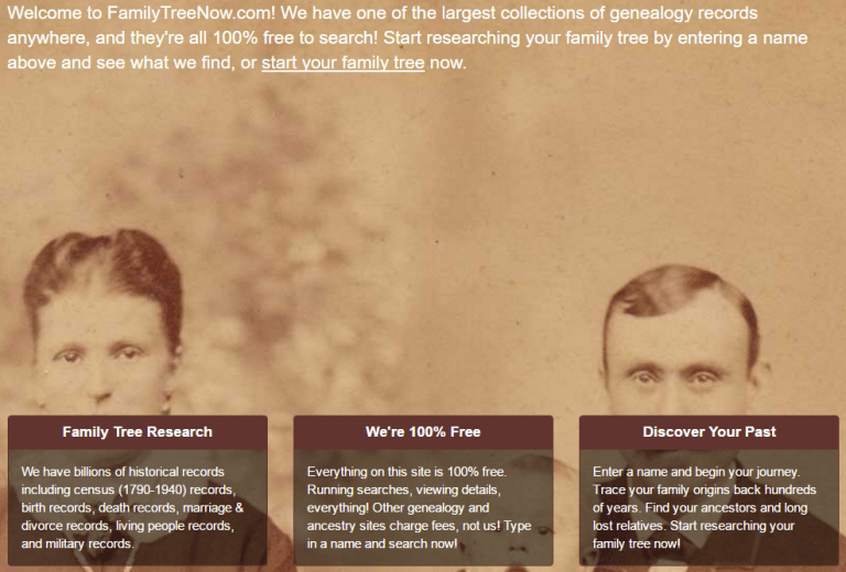 FamilyTreeNow may have more data on you than you'd feel comfortable sharing with the world.