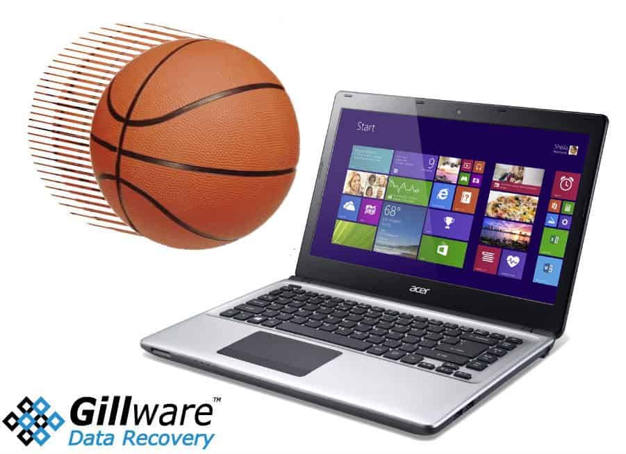 Basketballs: an uncommon reason for your crashed hard drive