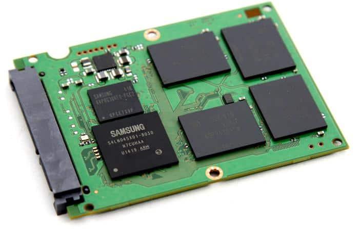 Samsung 850 EVO control board