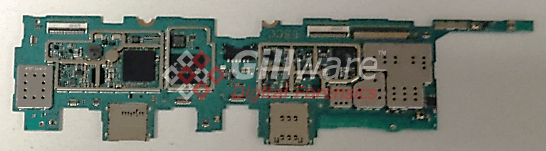Samsung Galaxy Tab 4 logic board