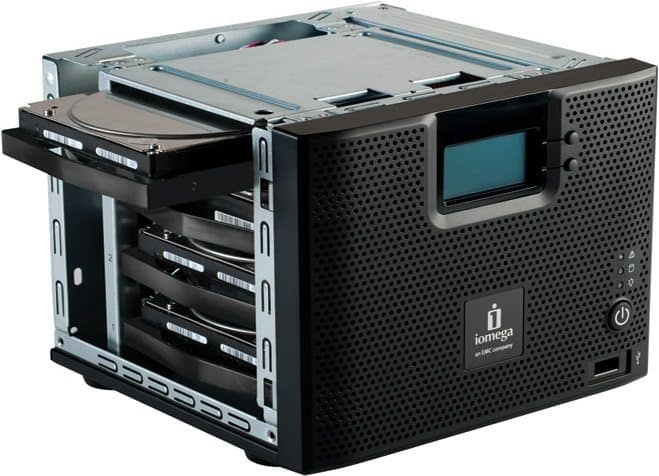 Iomega StorCenter IX4 NAS device data recovery