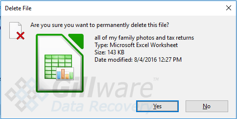 Gillware can help you recover deleted files