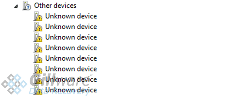Unknown device in Windows Device Manager