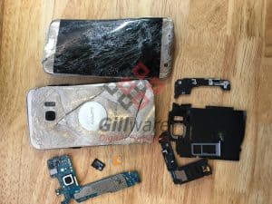 This motorcycle crash forensics case involved a Galaxy S7 phone that had been disassembled in a brutal demonstration of high-velocity physics