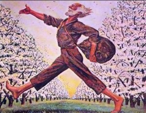 Johnny Appleseed, American folk legend