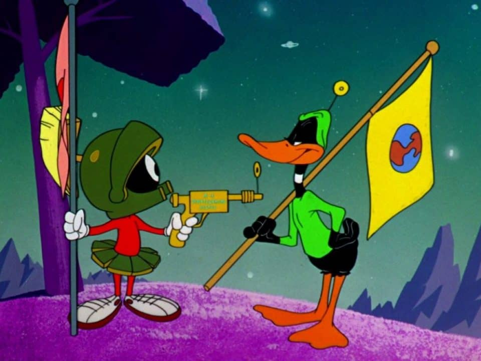 Duck Dodgers and Marvin the Martian