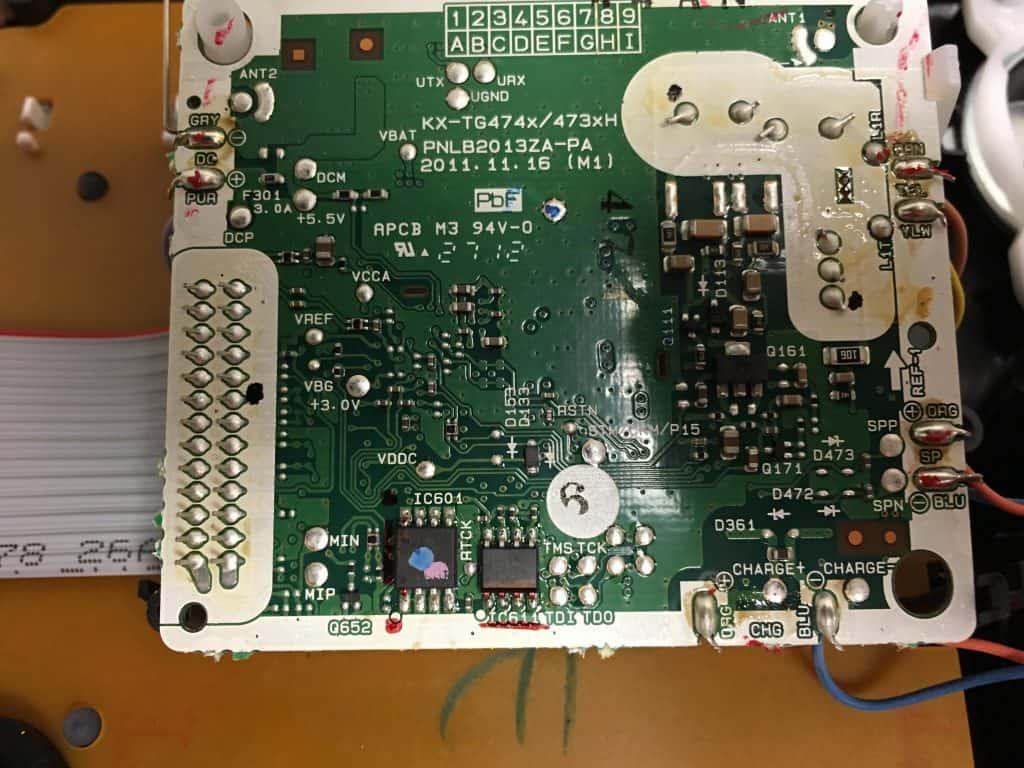 Panasonic Answering Machine - Board