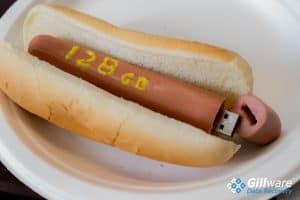 128 GB USB flash drive hot dog