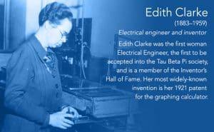 Edith Clarke, Inventor