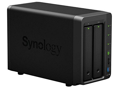 Synology DiskStation DS214+ flashing blue power light