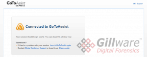 Remote support tools like GoToAssist have benign uses, and there is no danger in using them with legitimate tech support professionals. However, like any tool, they can be used for ill as well as good.