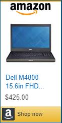 Dell M4800 Business Laptop