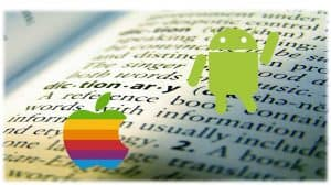 ios Android dictionary